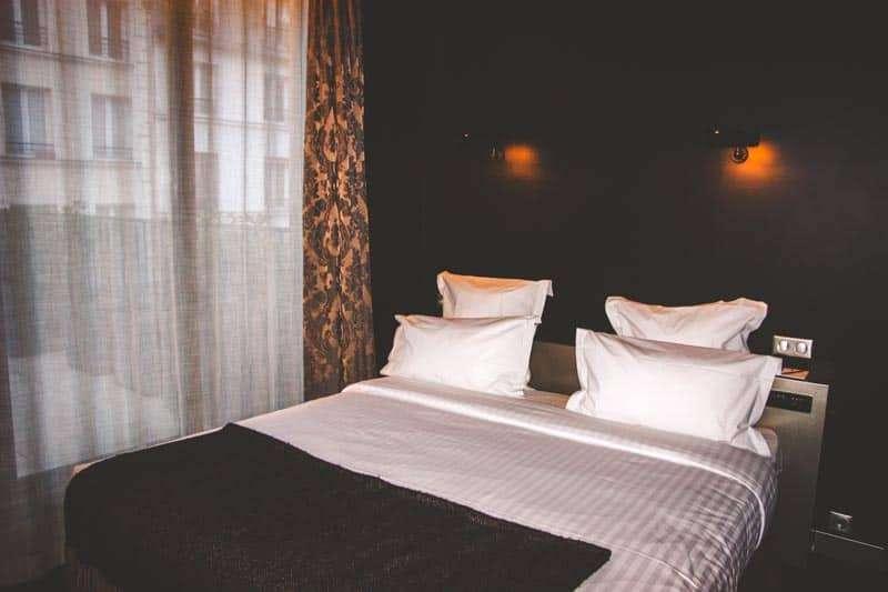 Rooms at the Hotel Eugene En Ville in Paris