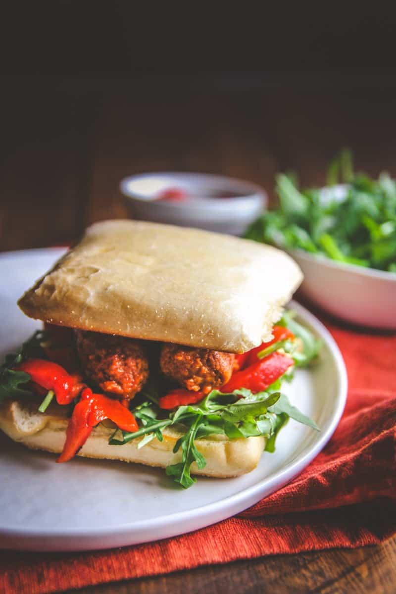 5 ingredient chorizo sandwich - from @sweetphi