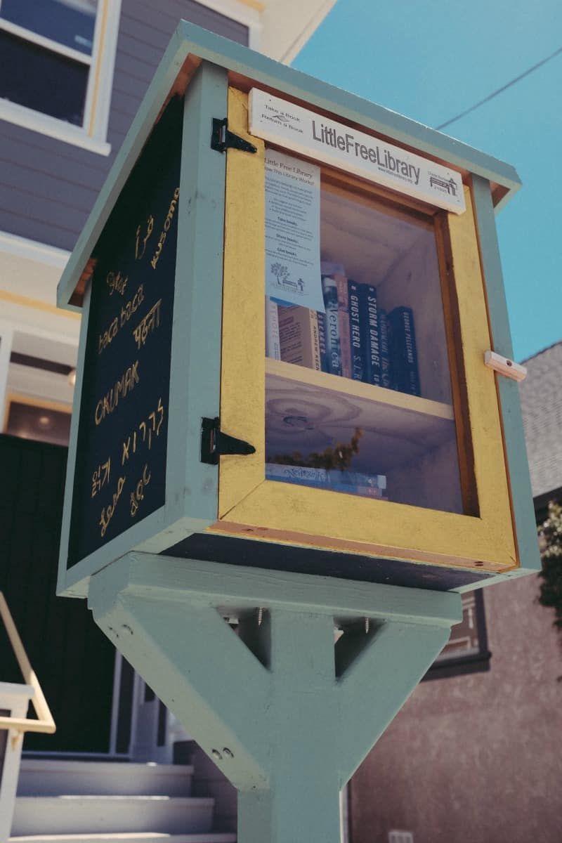 Free Little Library from @sweetphi 's faves