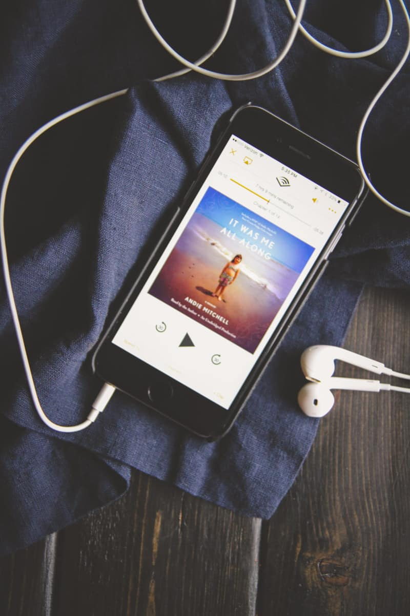 It was me all along -on Audible from @sweetphi 's Faves & Life Lately