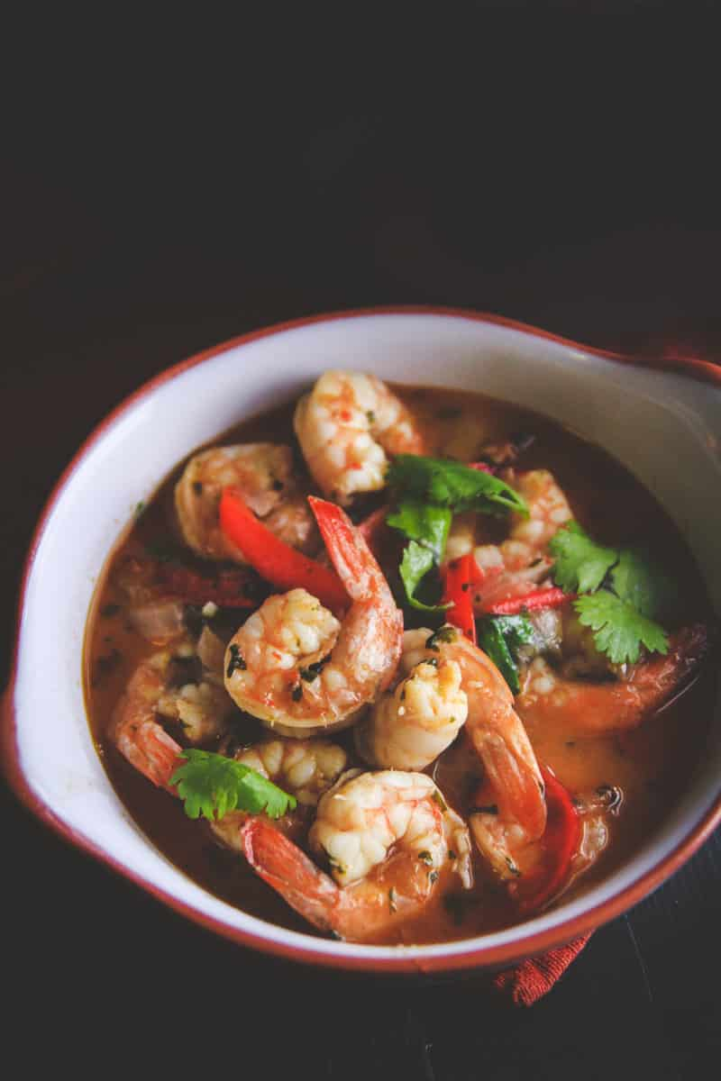 White wine garlic chili shrimp 15 minute dinner sweetphi white wine chili garlic shrimp from sweetphi forumfinder