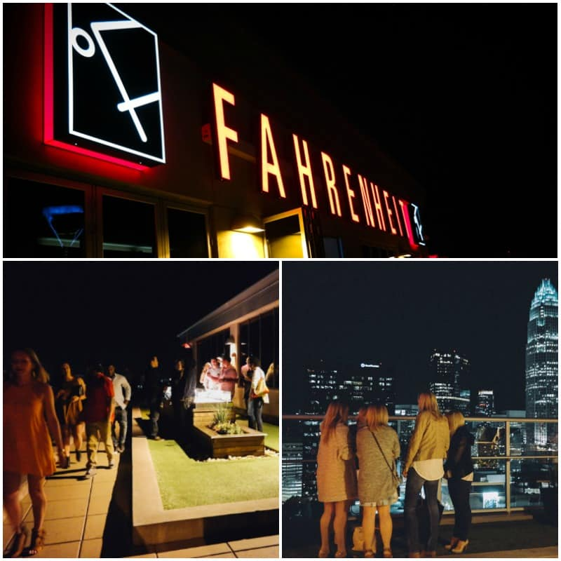 Fahrenheit restaurant Charlotte from @sweetphi blog