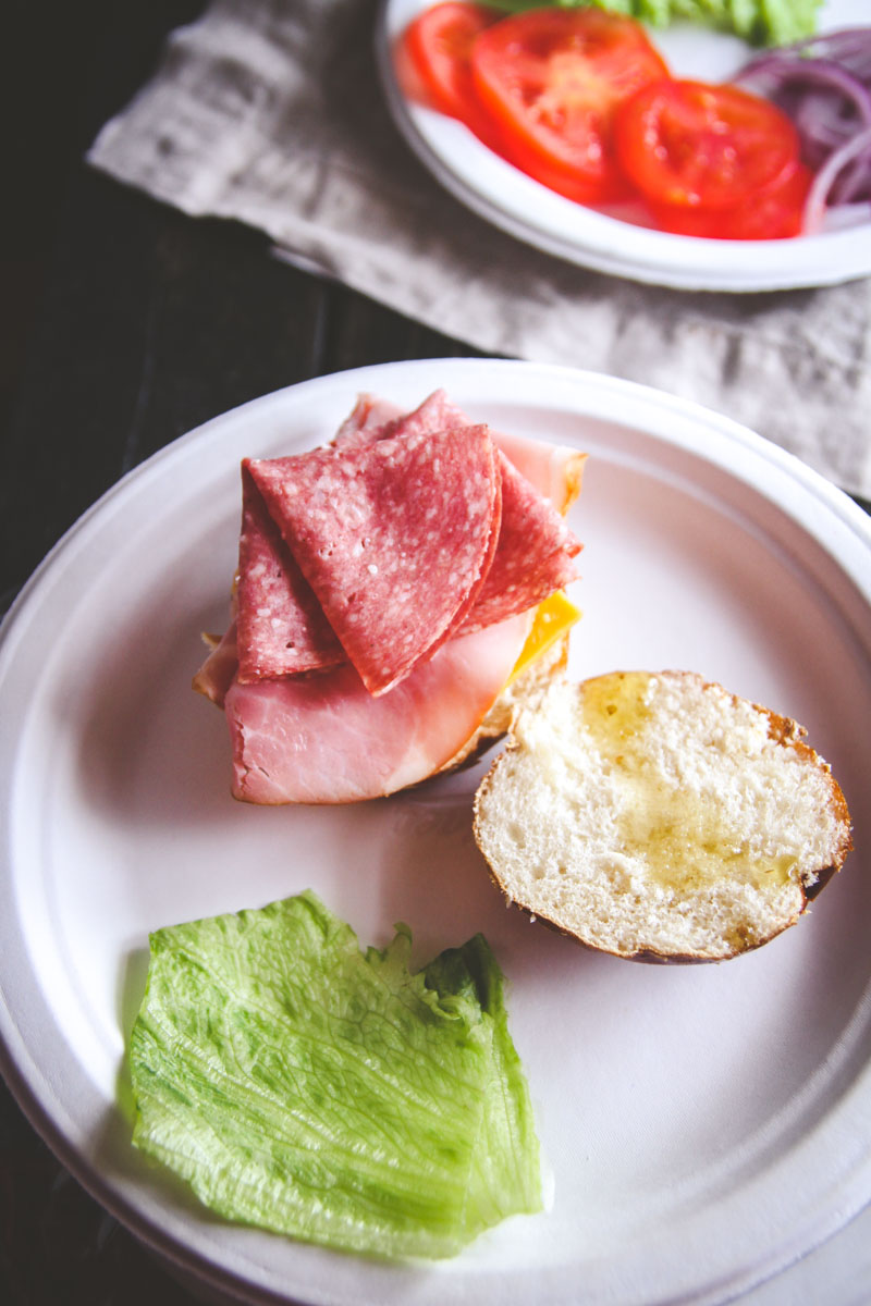 How to make a DIY sandwich bar for a party from @sweetphi