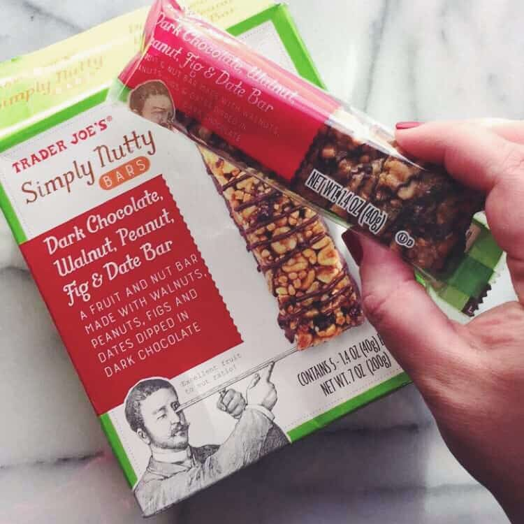 Simply nutty bars from Trader Joes @sweetphi