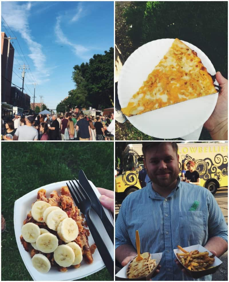 Street Eats Food truck festival pics from @sweetphi