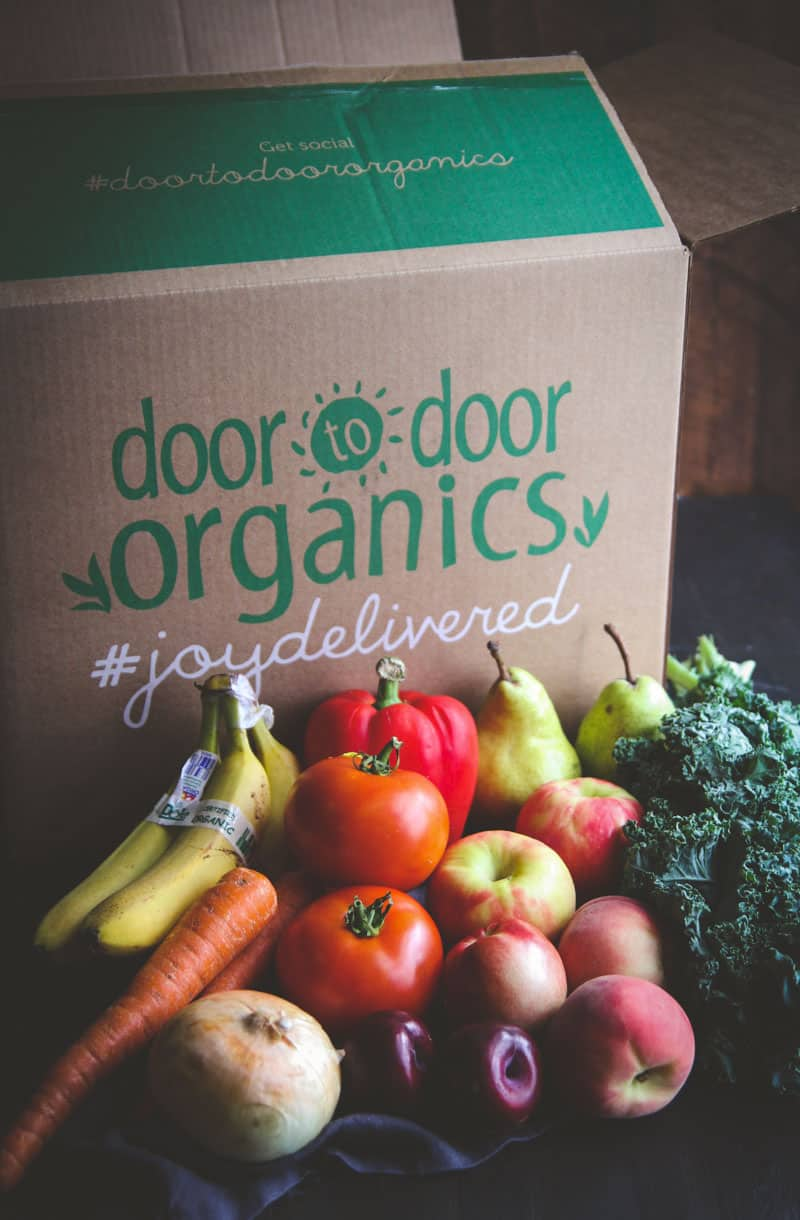 Door to Door Organics Itty Bitty Box @sweetphi