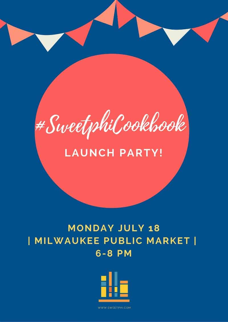 #SweetphiCookbook launch party