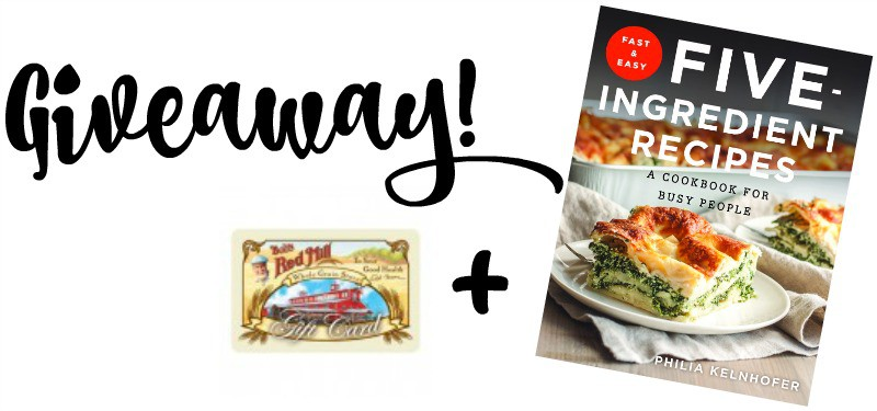 Gift certificate and cookbook giveaway from @Sweetphi