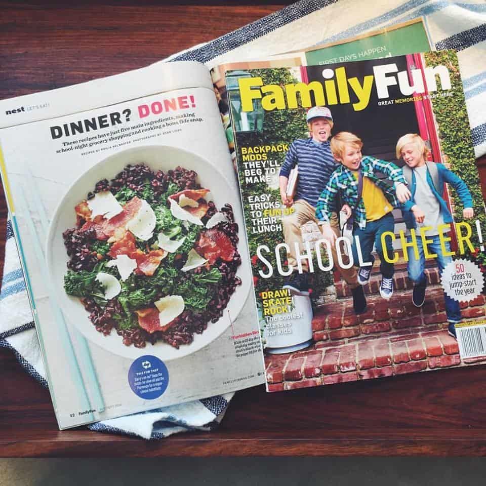 Family Fun 5 Ingredient Recipes