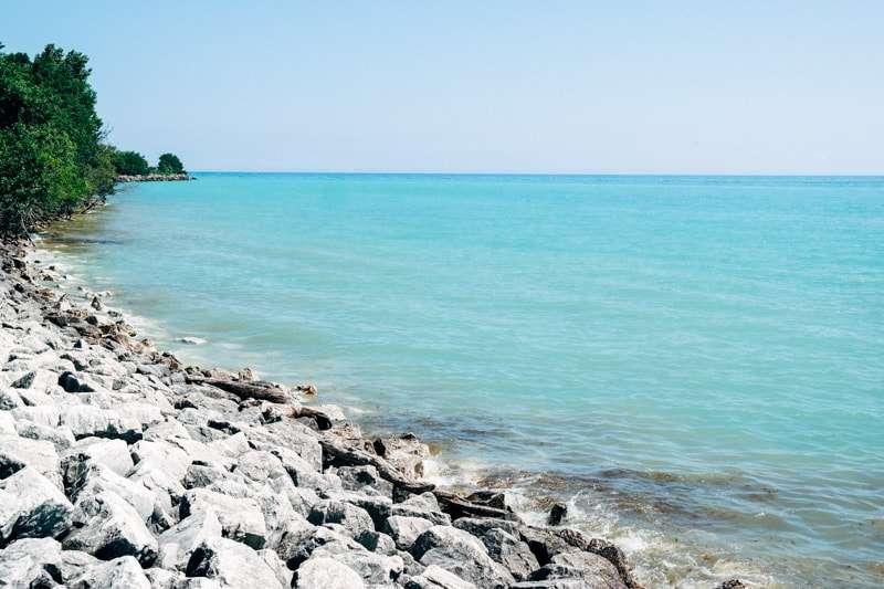 Lake Michigan in Milwaukee
