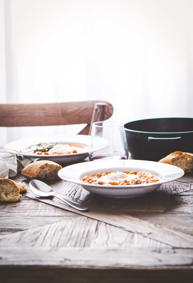 Pasta e fagiole soup recipe @Sweepthi
