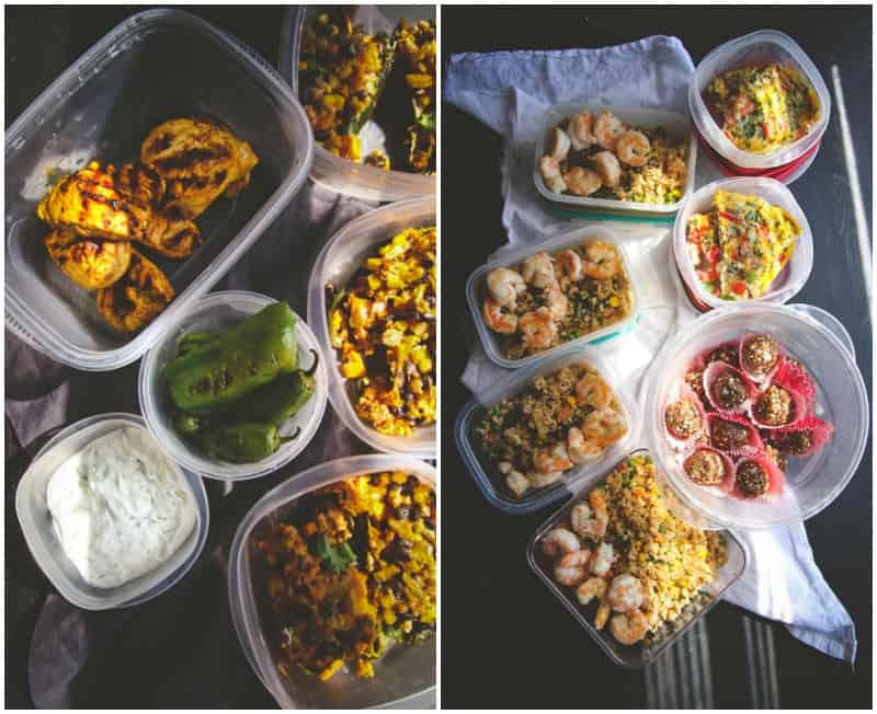 Recipes for meal prep Sundays @Sweetphi