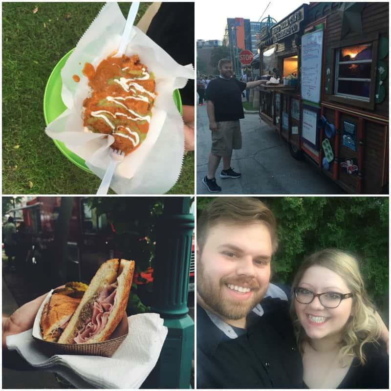 Milwaukee food truck festival - Street Eats - @Sweetphi