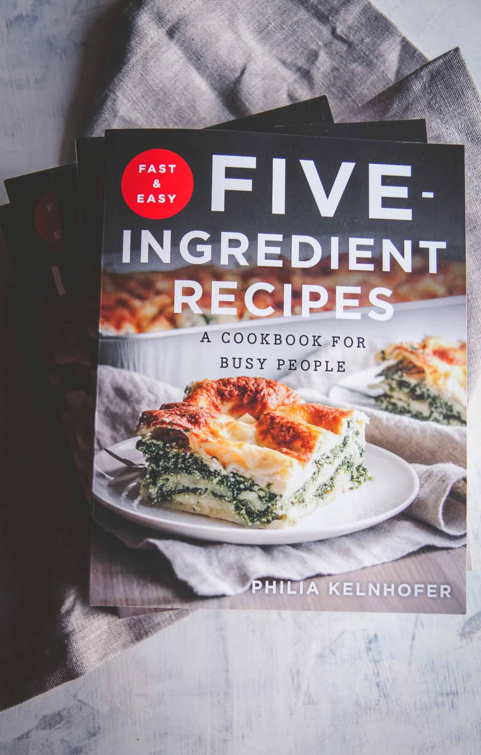 Fast and easy 5-ingredient cookbook. A Cookbook for busy people