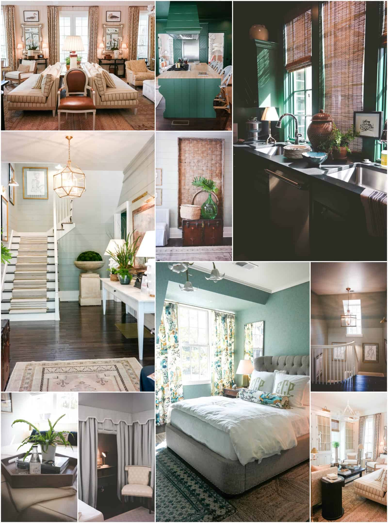 Southern Living 2016 idea house. Southern Living Magazine house tour