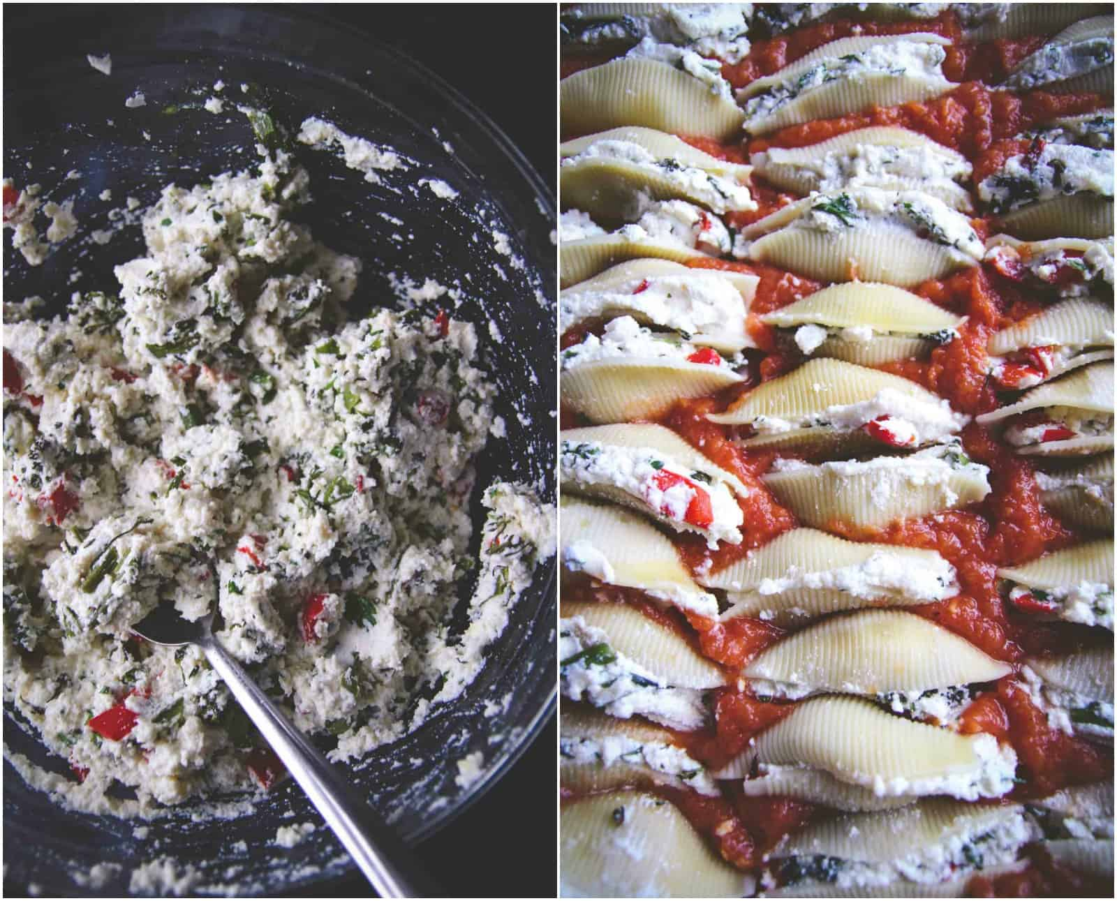 making-roasted-vegetable-stuffed-shells