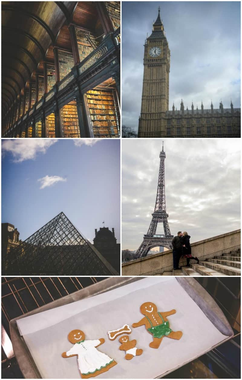 2016 travel to europe and baby announcement