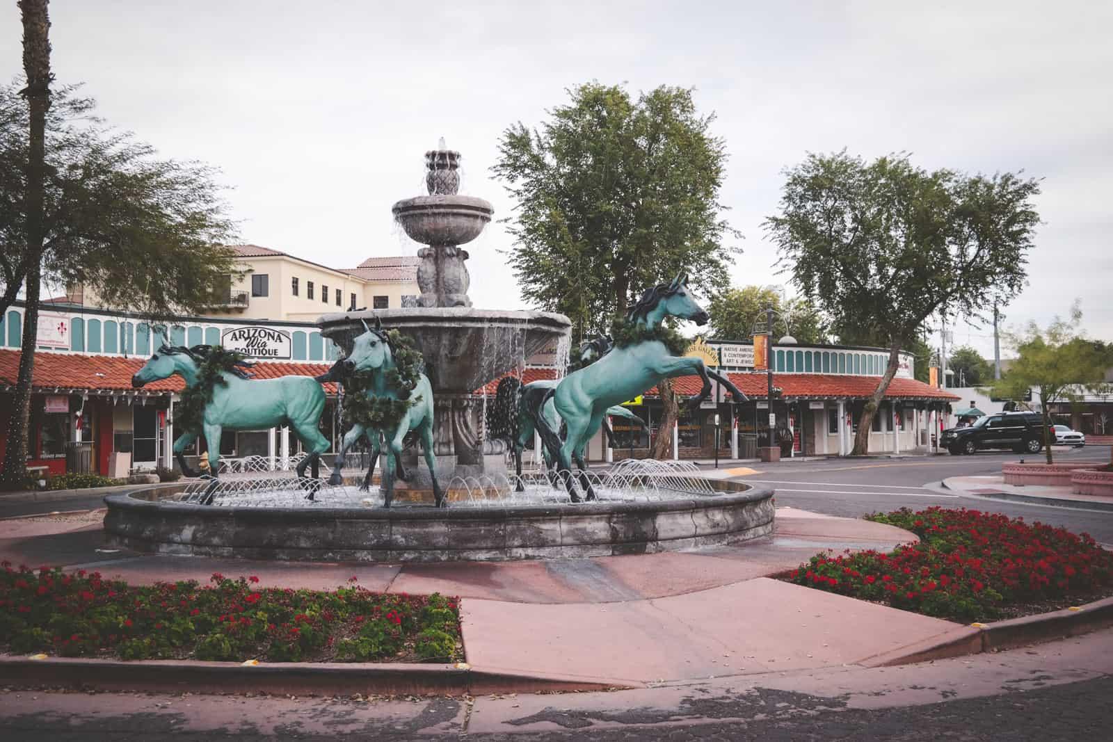 Downtown Scottsdale AZ