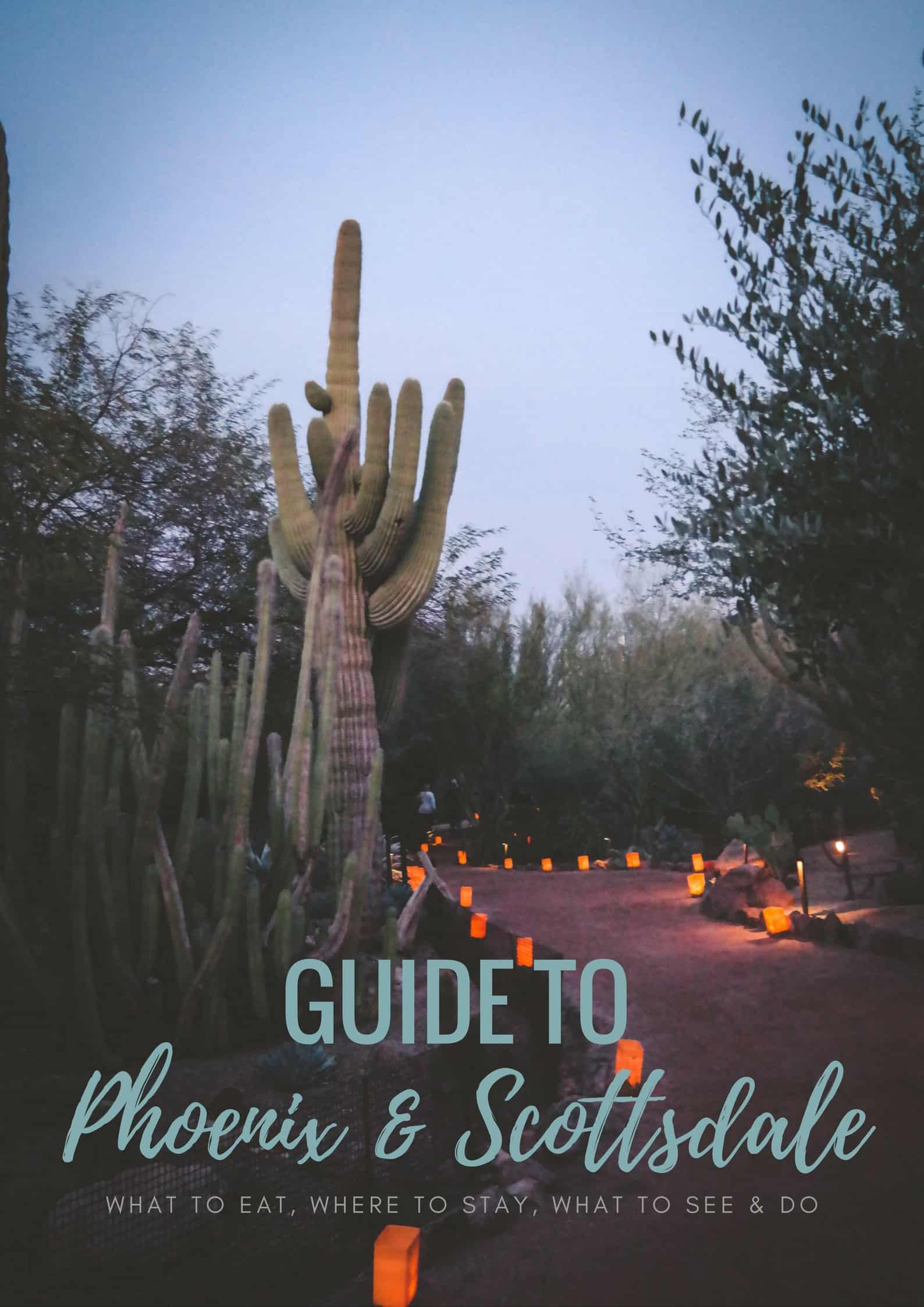 Guide to Phoenix and Scottsdale AZ