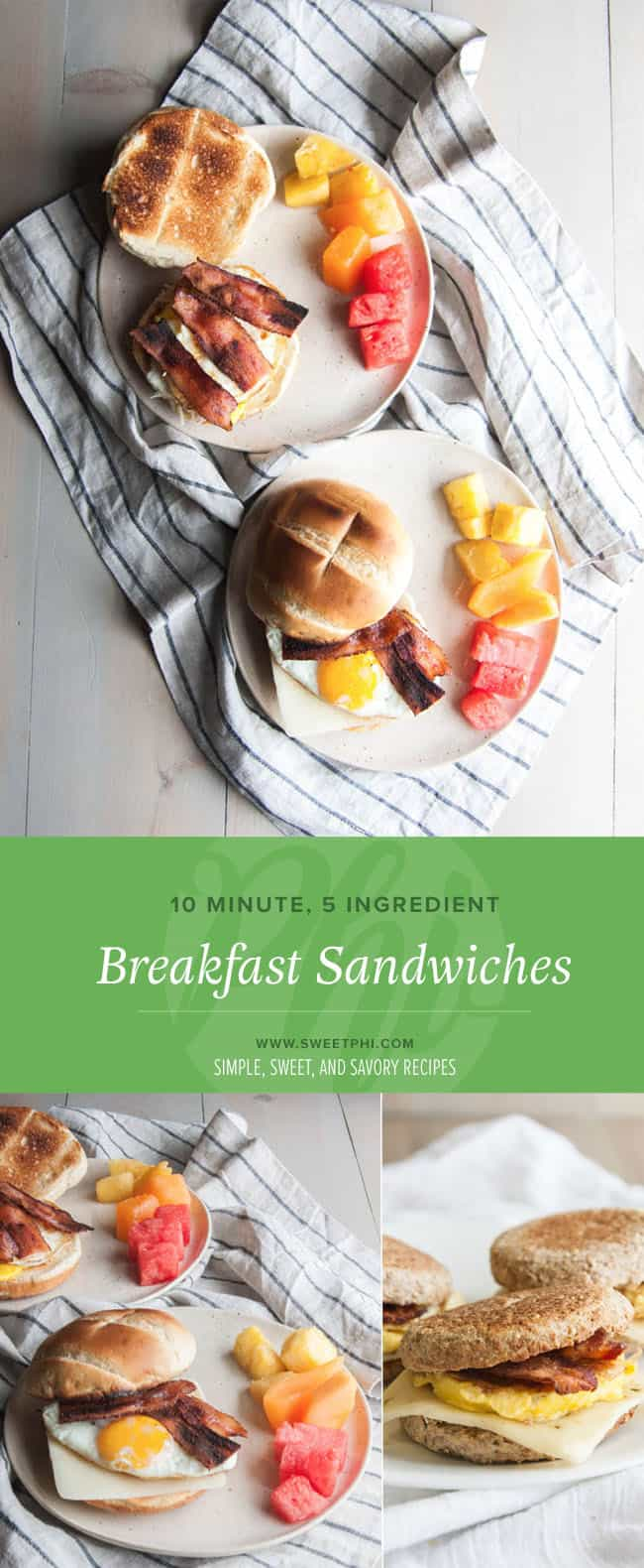 A quick and easy breakfast or brunch recipe that is only 5 ingredients!