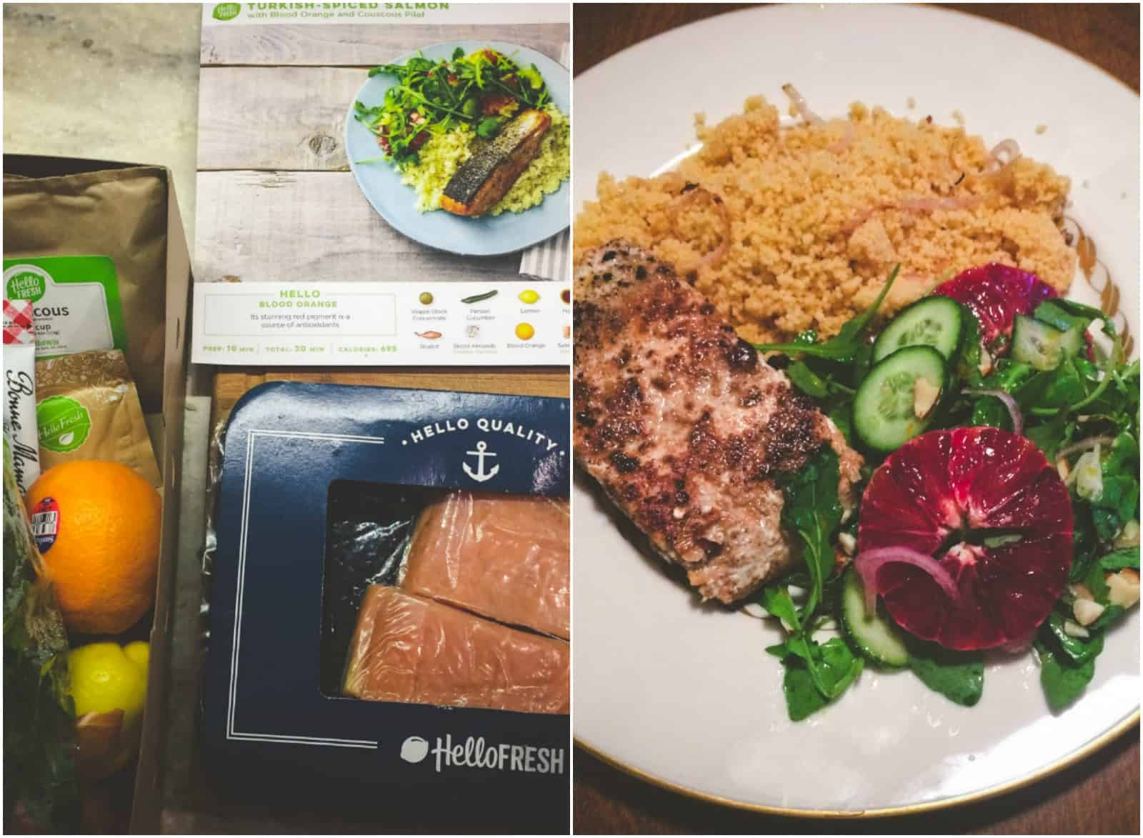 Hello Fresh meal delivery review