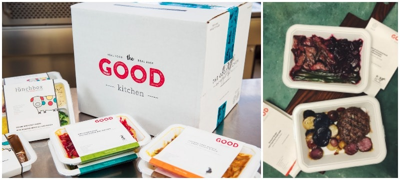 The good kitchen - premade healthy meal delivery service