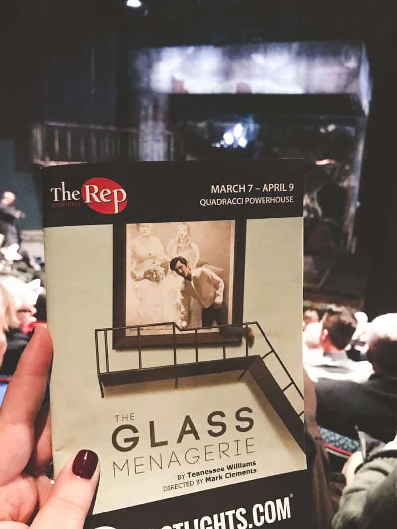 The Milwaukee Rep - The Glass Menagerie