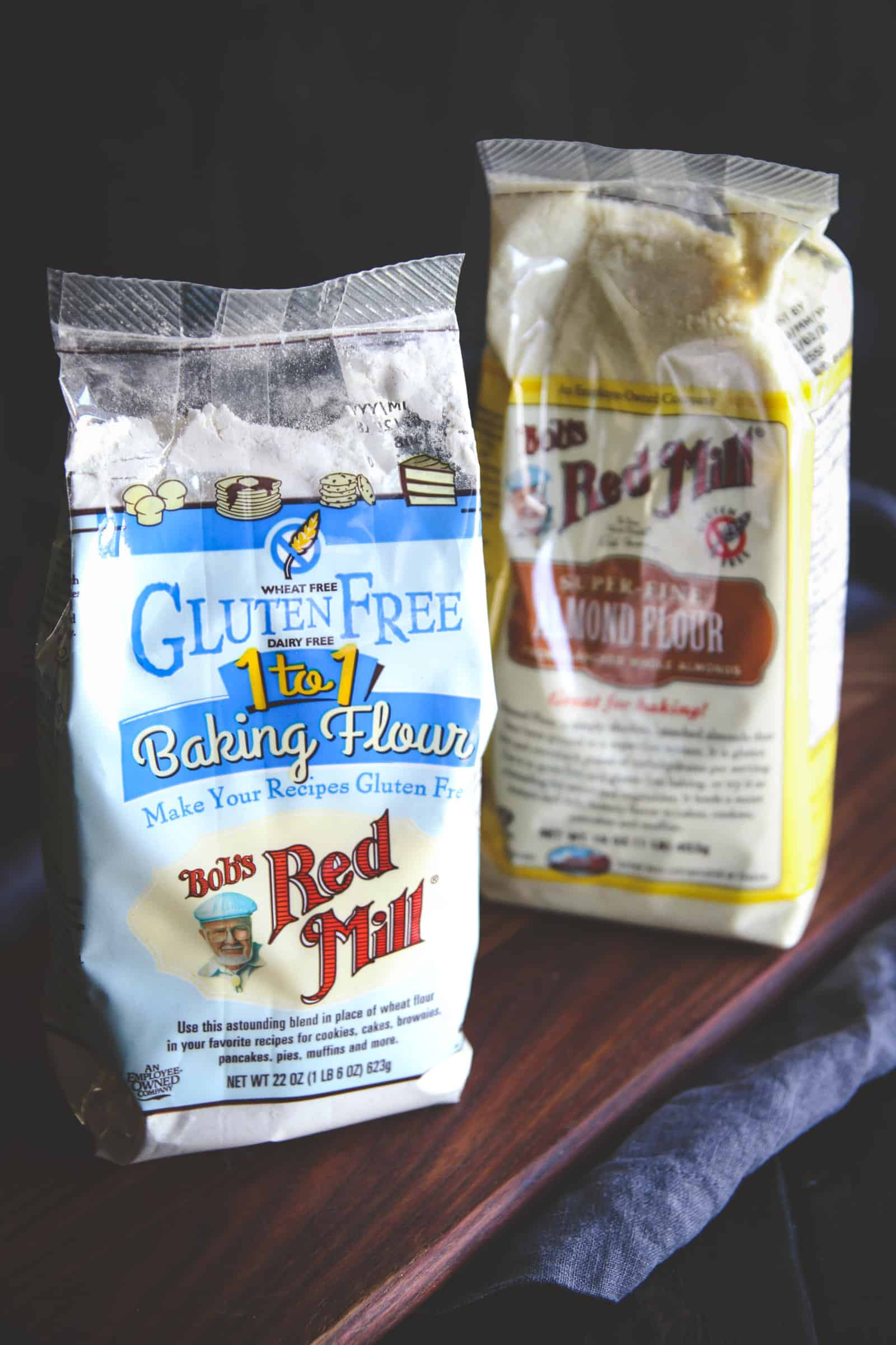 gluten free flour from Bobs Red Mill