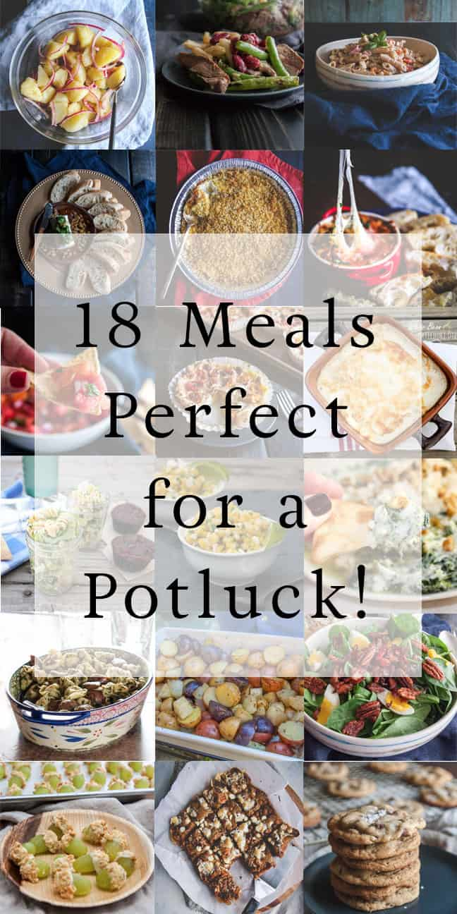 potluck pasta salad recipe & what to bring to a potluck - sweetphi