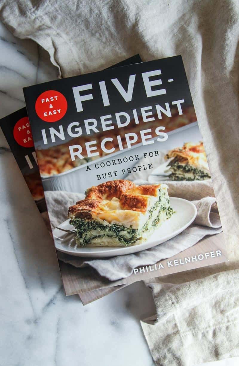 Fast and Easy Five-Ingredient Recipes,: A cookbook for busy people