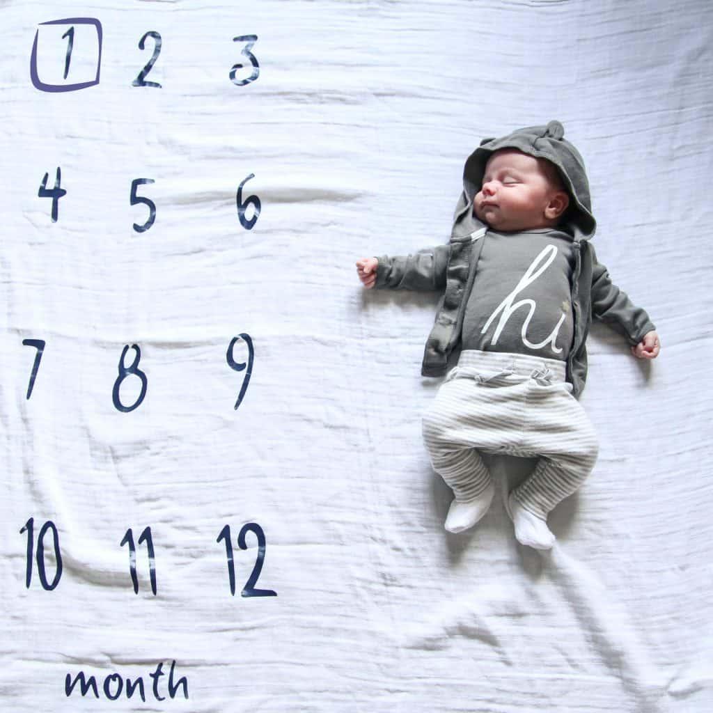 Baby Ben 1 month photo