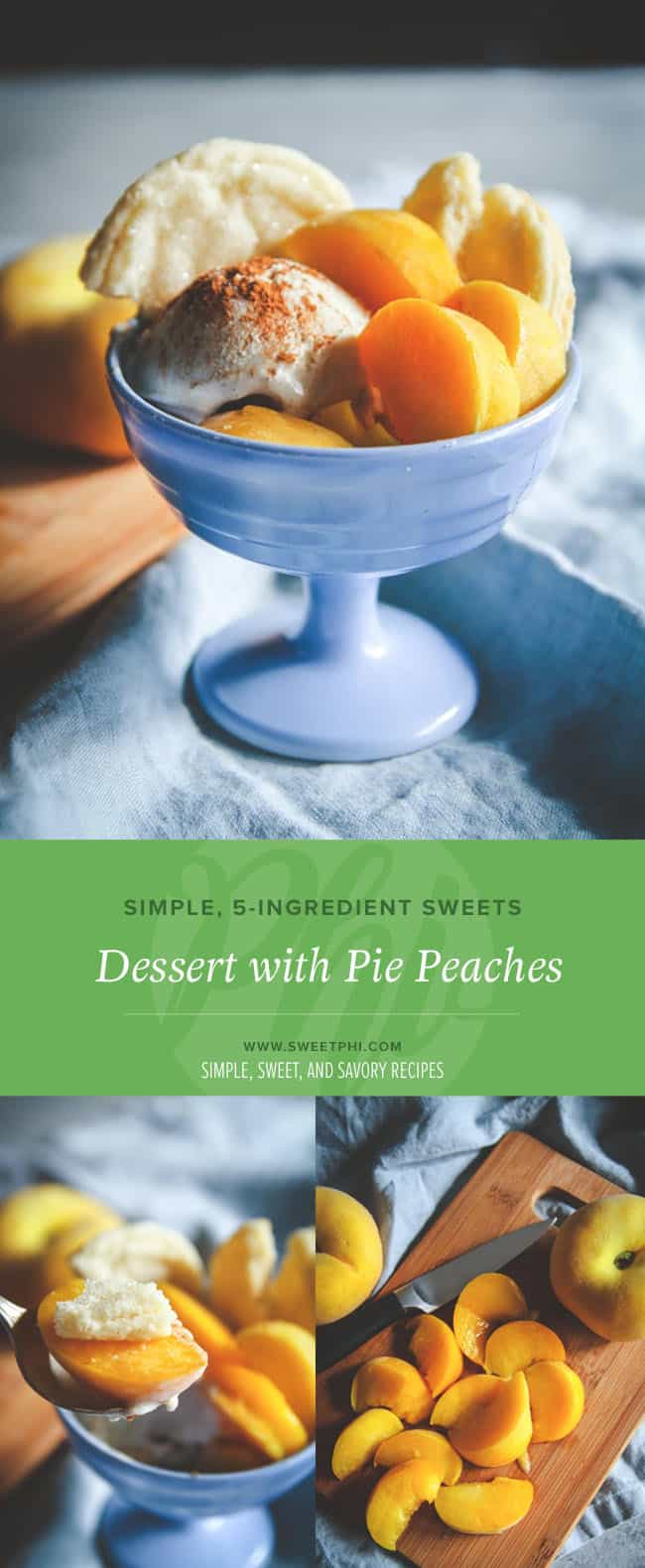 Peaches are the perfect addition to any summer dessert and this recipe is no exception