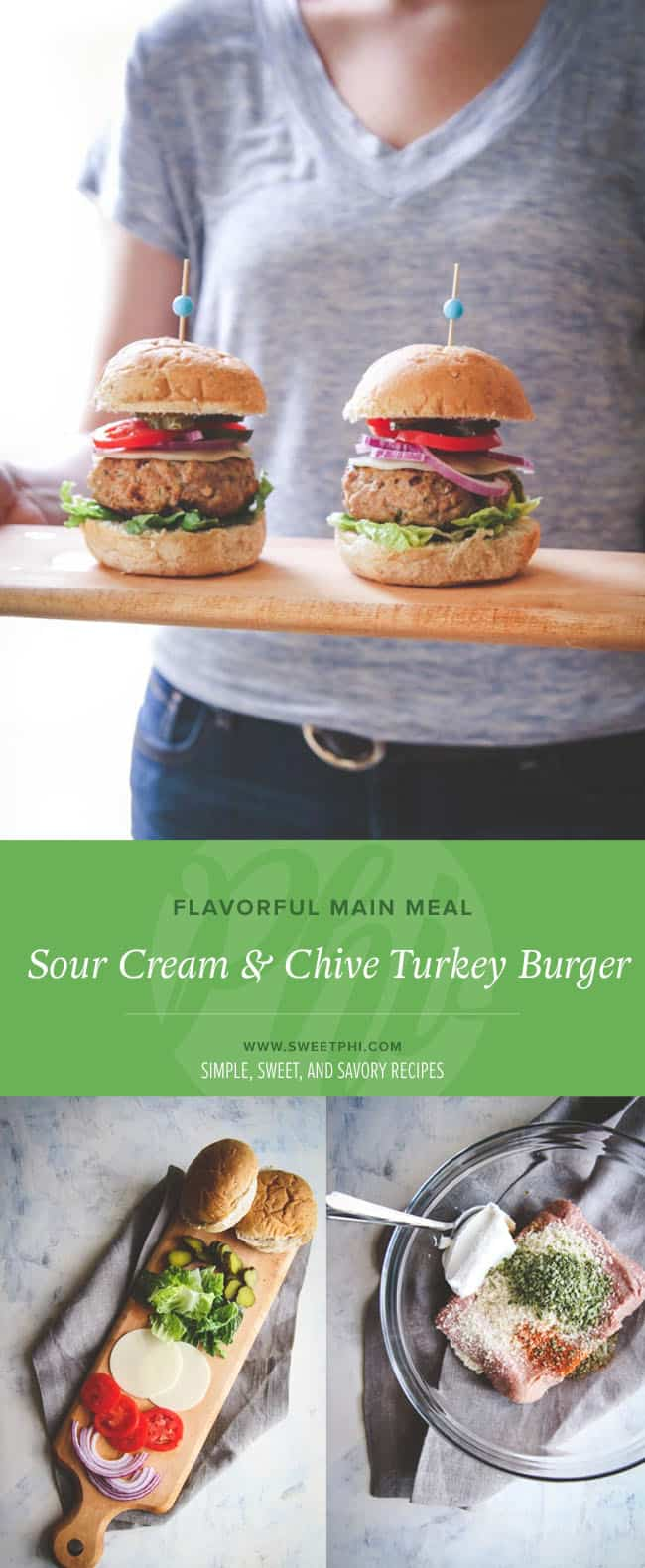 This turkey burger recipe is a great go-to way to enjoy a flavorful, healthy dish anytime!