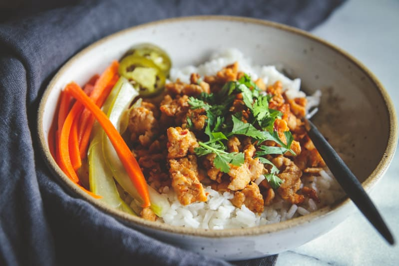 Asian Ground Turkey And Rice Bowls Recipe Sweetphi