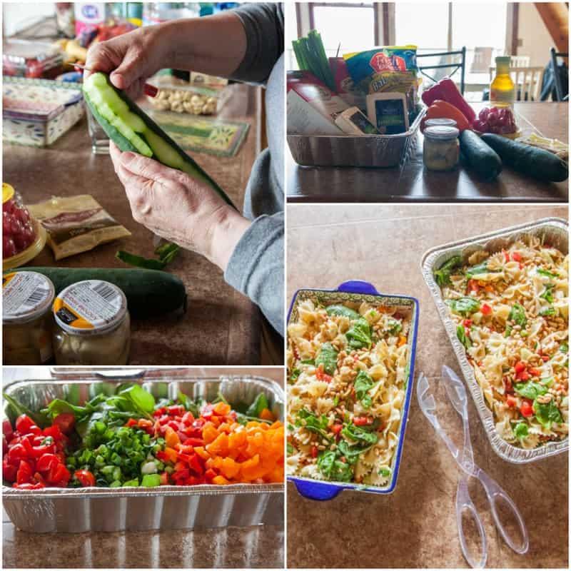 Potluck Pasta Salad Recipe & What To Bring To A Potluck