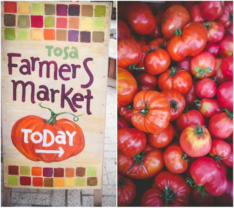 Tosa farmers market