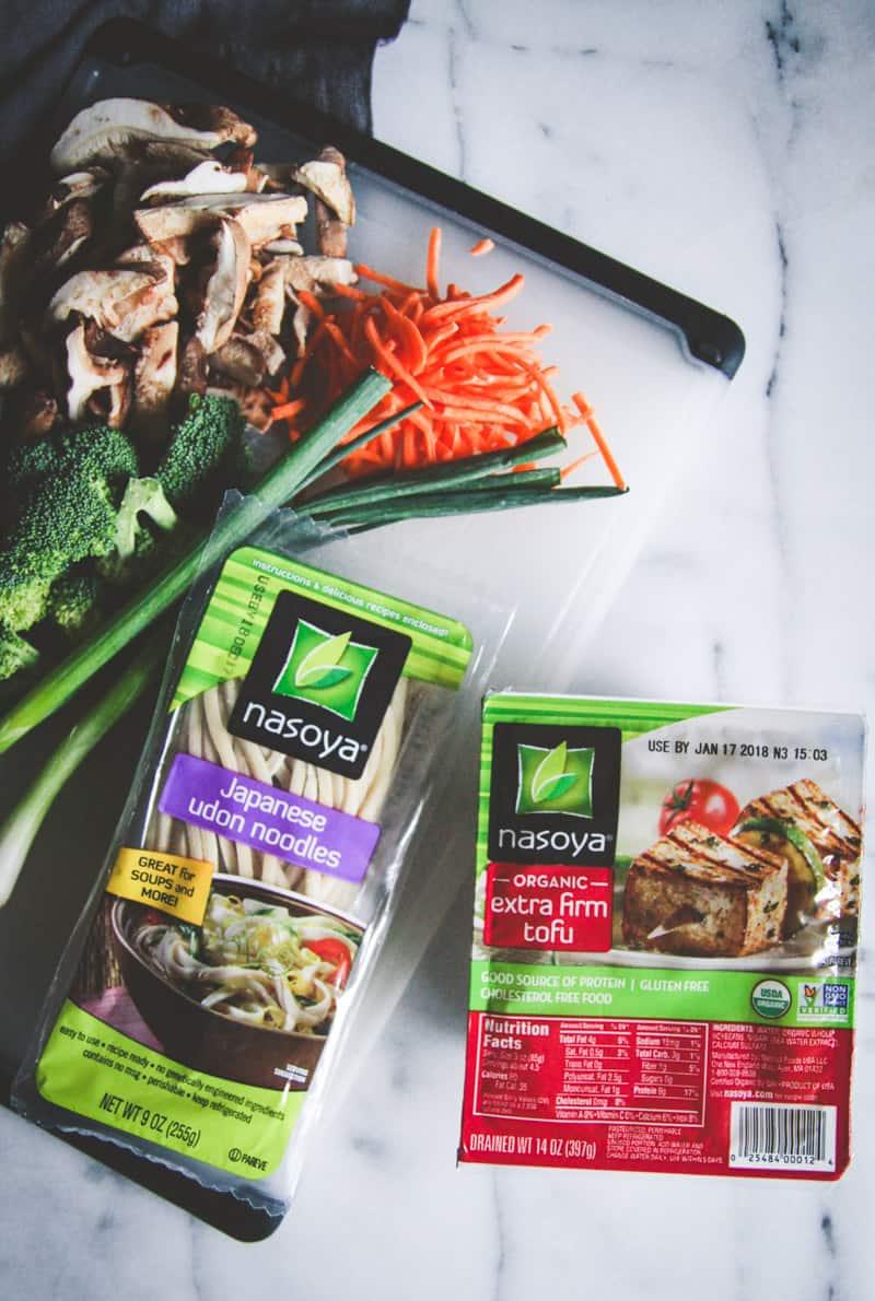 Vegetarian Japanese pan noodles recipe