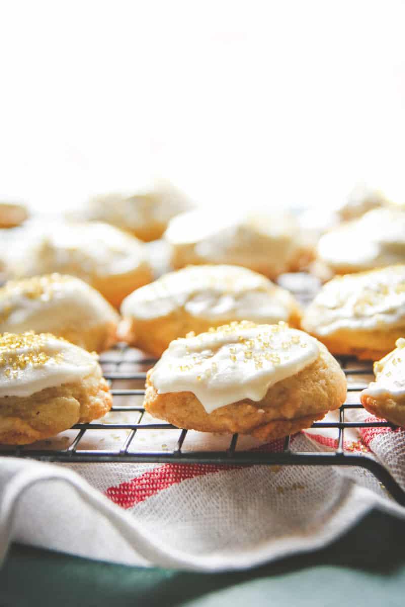 Eggnog Christmas cookies recipe