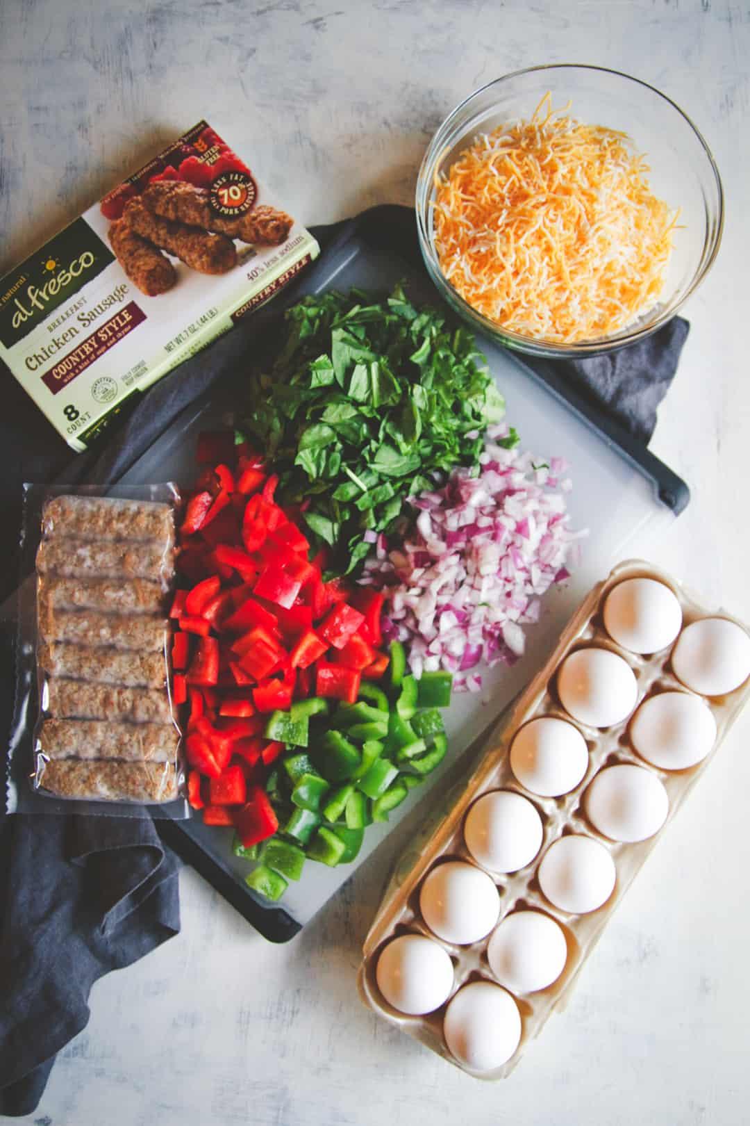 Healthy slow cooker breakfast casserole recipe, overnight breakfast casserole, meal prep breakfast recipe