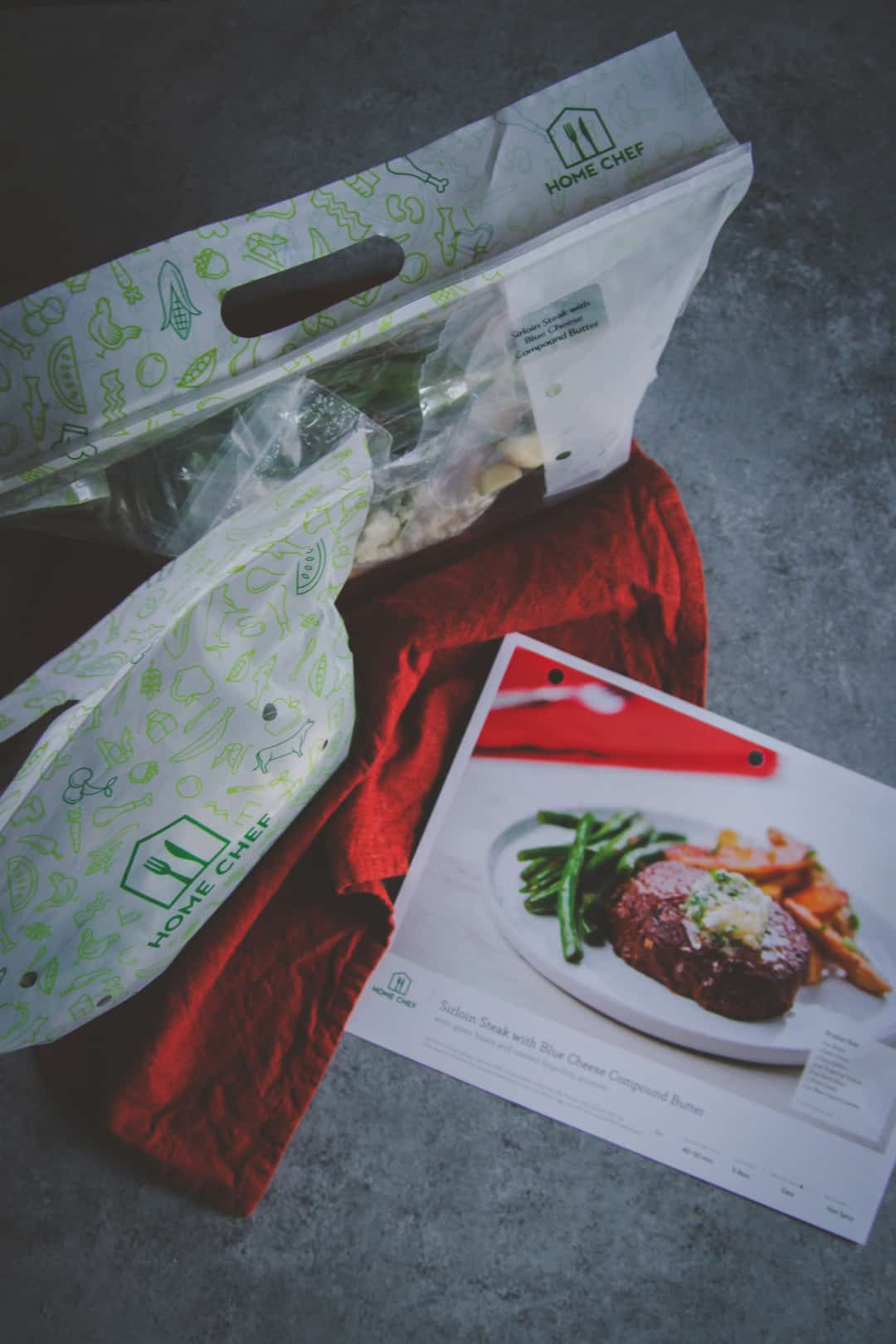 Home Chef meal delivery for Valentines day