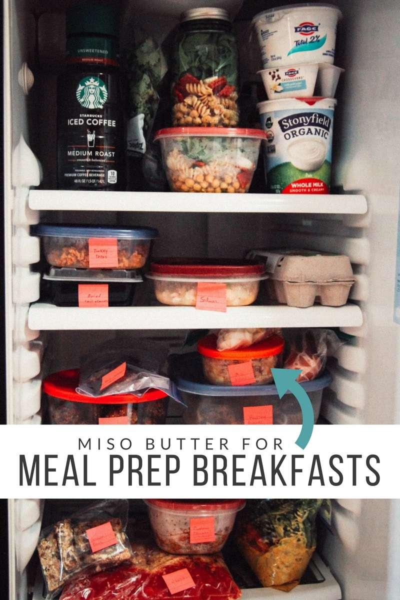 meal prep breakfasts, meal prep fridge