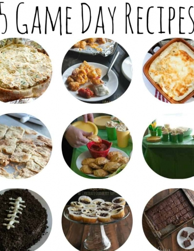 15 Game Day Recipes