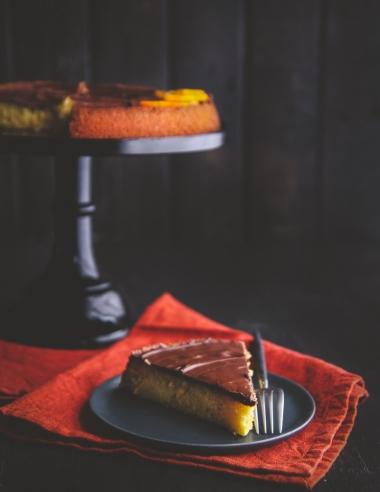 5 Ingredient Cake {Orange Chocolate Almond Torte}