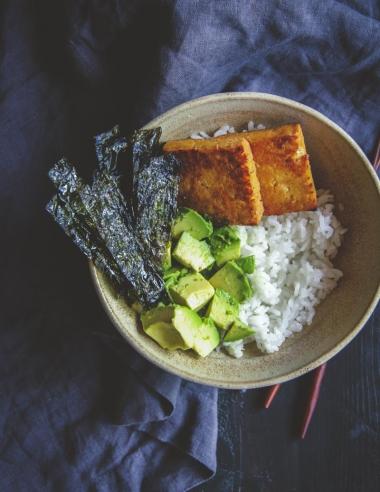 5 Ingredient Vegetarian Sushi Bowls Recipe