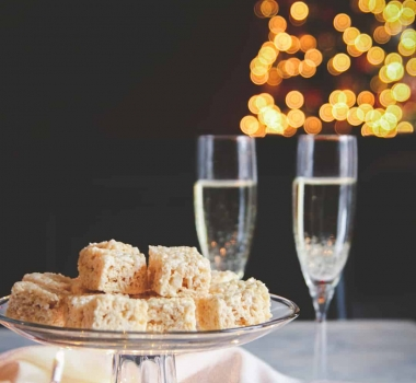 5 Ingredient Champagne Rice Krispie Treats Recipe