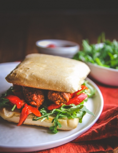 5 Ingredient Chorizo Sandwich