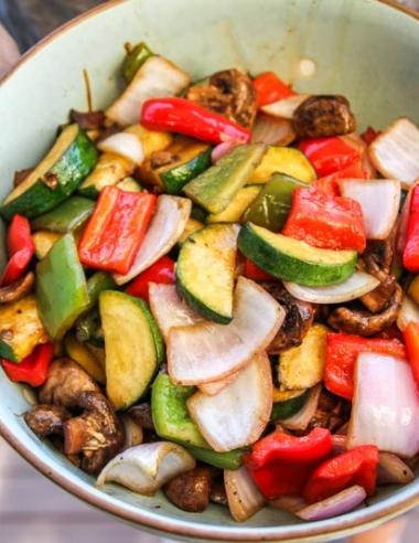 Balsamic Grilled Vegetables-Side Dish Recipe