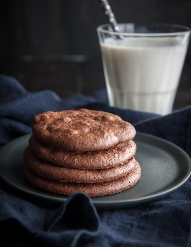 5 Ingredient Chewy Brownie Cookies