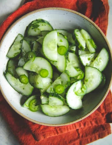 Easy Cucumber Salad Recipe