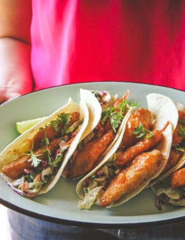 Easy Sweet Chili Fish Tacos Recipe